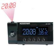 Часы - Будильник Assistant AH-1076 black